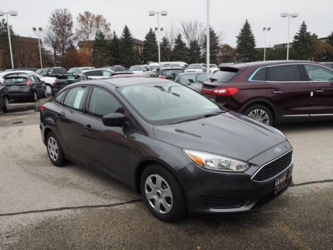 New 2017 Ford Focus S FWD 4dr Car