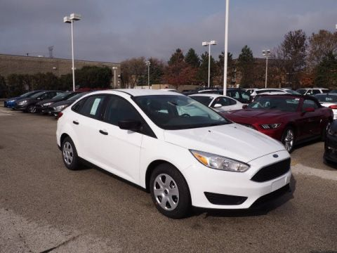 New 2018 Ford Focus S FWD 4dr Car