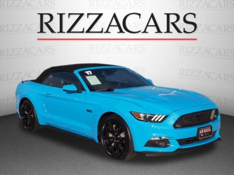 Pre-Owned 2017 Ford Mustang GT RWD GT Premium 2dr Convertible