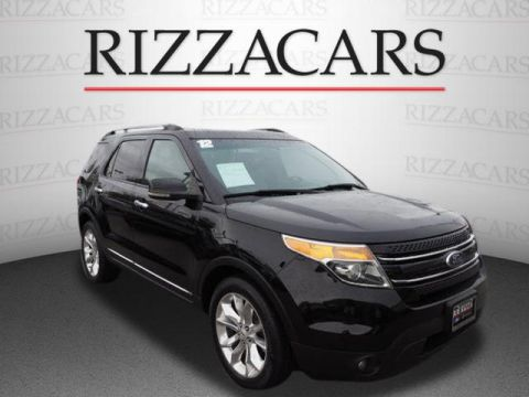 Pre-Owned 2012 Ford Explorer Limited FWD Limited 4dr SUV