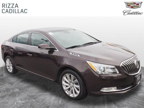 Pre-Owned 2015 Buick LaCrosse Leather FWD Leather 4dr Sedan