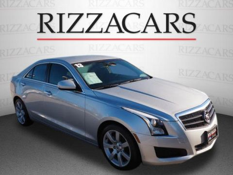 Pre-Owned 2013 Cadillac ATS Luxury RWD 2.5L 4dr Sedan