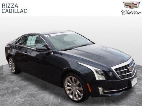 Certified Pre-Owned 2017 Cadillac ATS Premium Luxury AWD AWD
