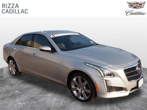 Certified Pre-Owned 2014 Cadillac CTS Performance AWD AWD