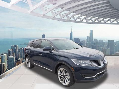 New 2018 LINCOLN MKX Reserve With Navigation & AWD