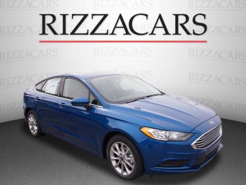 New 2017 Ford Fusion SE FWD 4dr Car