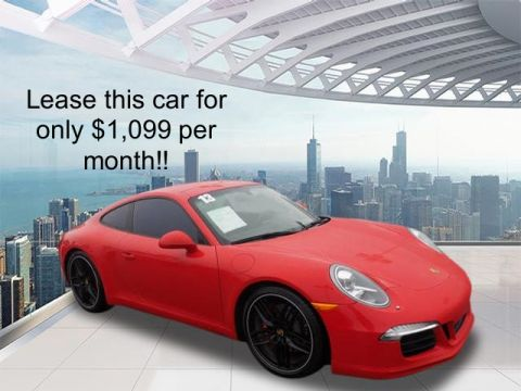 Certified Pre-Owned 2013 Porsche 911 Carrera S RWD Carrera S 2dr Coupe