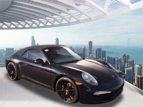 Certified Pre-Owned 2015 Porsche 911 Carrera RWD Carrera 2dr Convertible