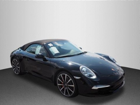 Certified Pre-Owned 2015 Porsche 911 Carrera S RWD Carrera S 2dr Convertible