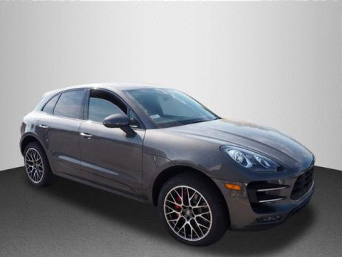 New 2017 Porsche Macan Turbo With Navigation & AWD