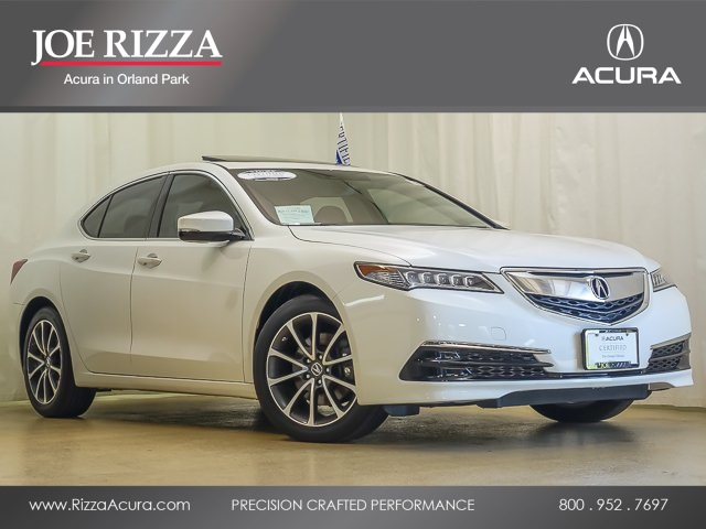Certified PreOwned Acura TLX L V WTechnology Package D - Pre own acura