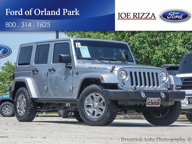 Pre Owned 2015 Jeep Wrangler Unlimited Rubicon