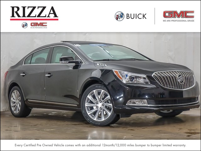 Certified Pre Owned 2016 Buick Lacrosse Leather Group