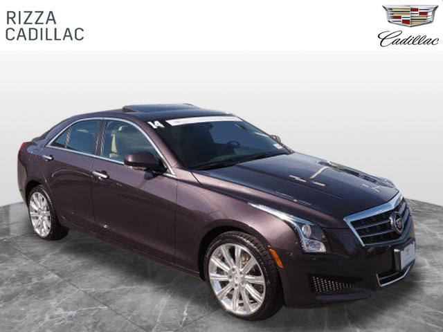 Certified Pre-Owned 2014 Cadillac ATS Luxury AWD