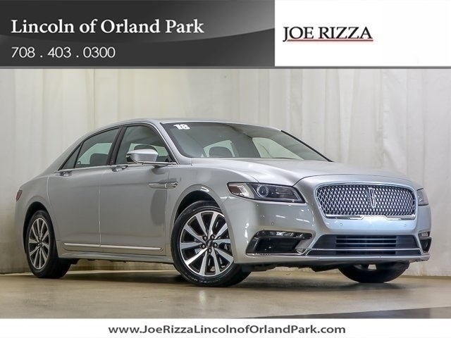 Certified Pre-Owned 2018 Lincoln Continental Premiere