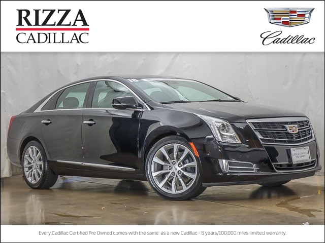 Certified Pre Owned 2016 Cadillac Xts Luxury 4d Sedan In Orland Park