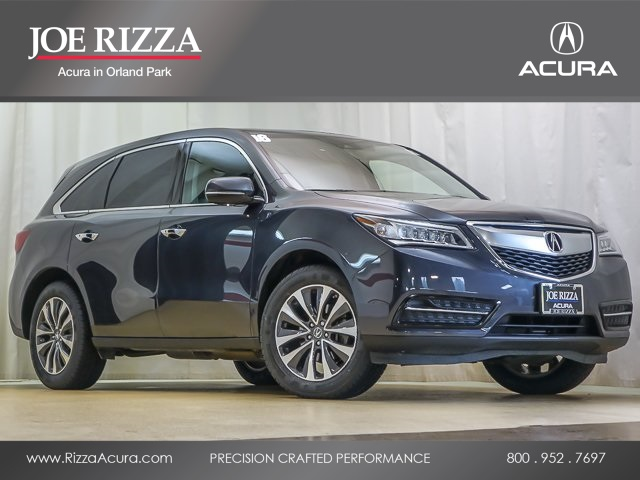 PreOwned Acura MDX L SHAWD WTechnology Pkg D Sport - Acura mdx pre owned