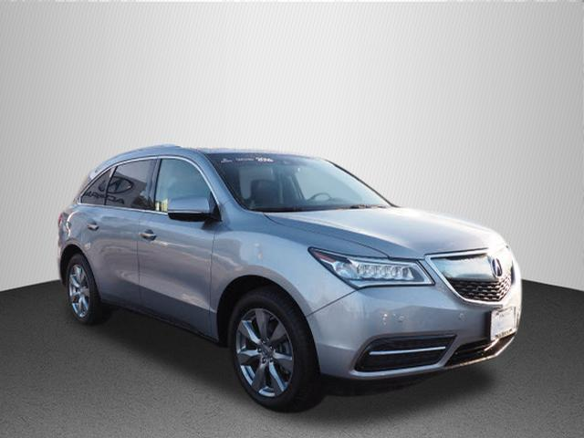 Certified Pre Owned 2016 Acura Mdx Advance Awd