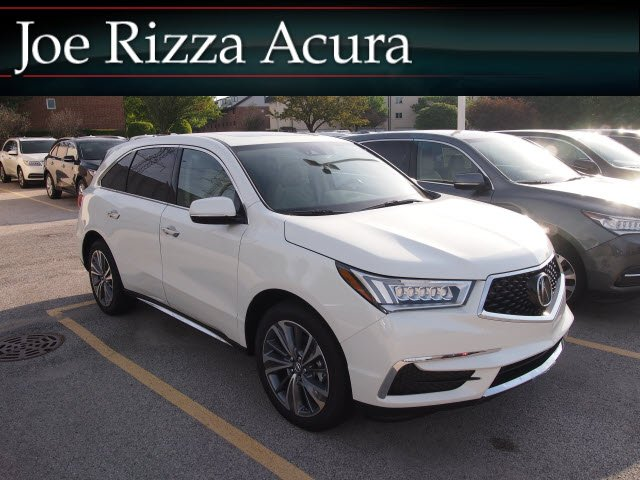 Worksheet. New 2018 Acura MDX SHAWD wTechnology Pkg Sport Utility in Orland