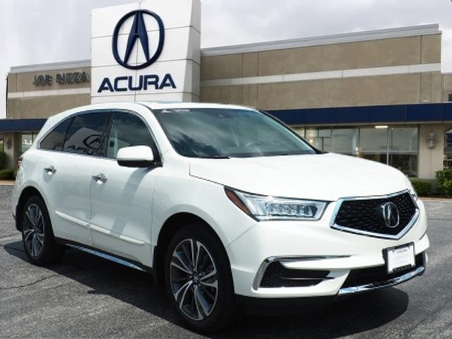 Certified Pre-Owned 2019 Acura MDX 3.5L Technology Package SH-AWD