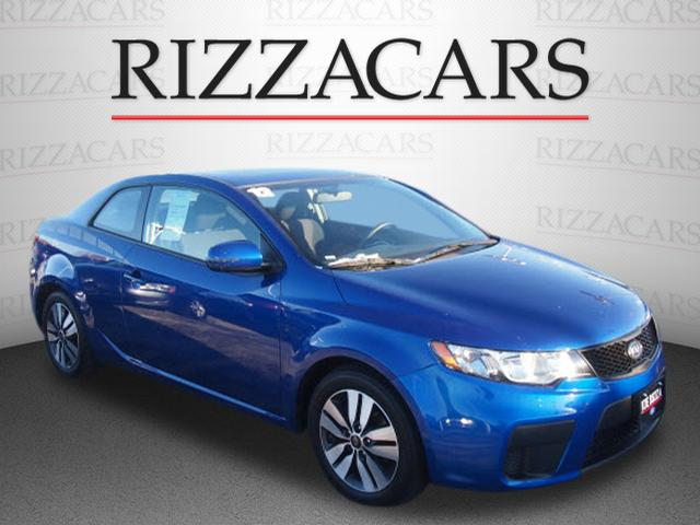 Pre Owned 2013 Kia Forte Ex Ex 2dr Coupe 6a In Orland Park