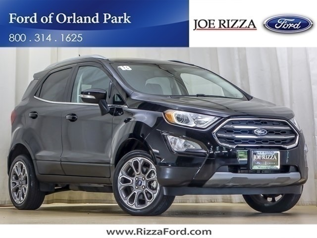 Certified Pre-Owned 2018 Ford EcoSport Titanium