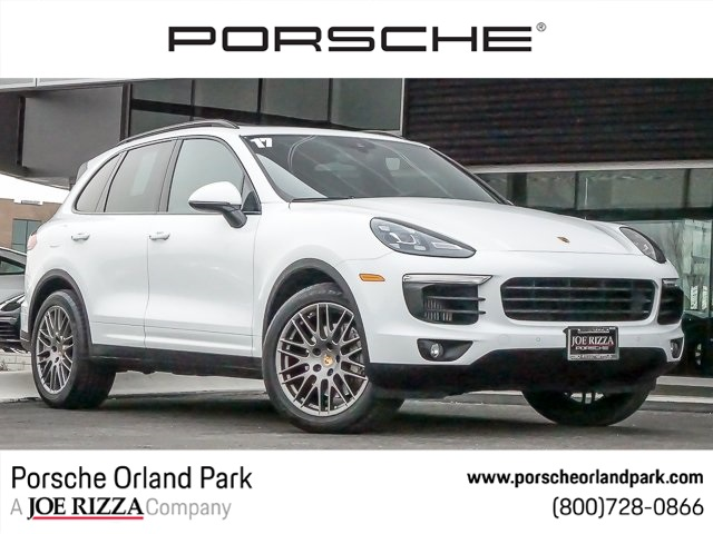 Certified Pre Owned 2017 Porsche Cayenne S