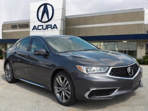 New 2020 Acura TLX Technology