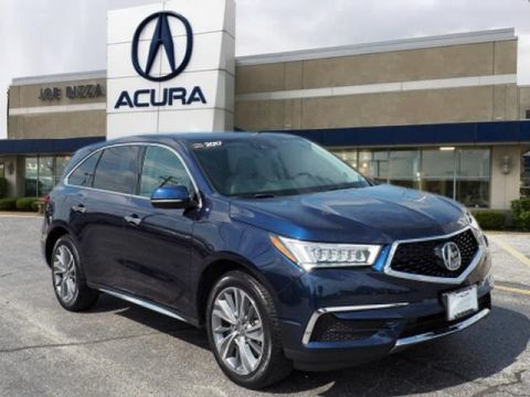 Certified Pre-Owned 2017 Acura MDX 3.5L SH-AWD w/Technology Package