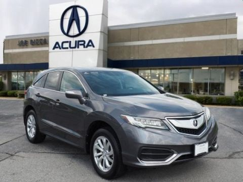 Certified Pre-Owned 2017 Acura RDX Technology Package SH-AWD