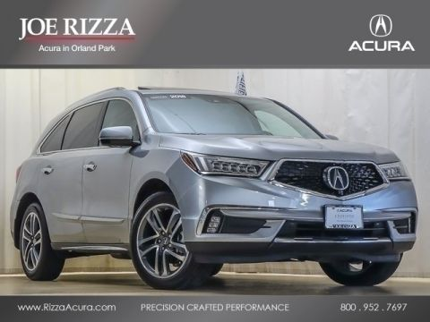 Certified Pre-Owned 2018 Acura MDX SH-AWD w/Advance